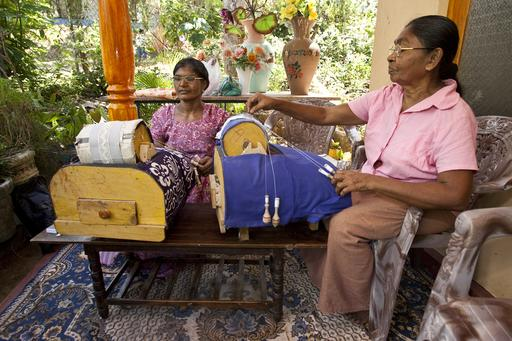 Lacemaking is just one example of the small businesses in Nakulugamuwa, Sri Lanka, supported by a Rotary Community Corps (RCC) loan.