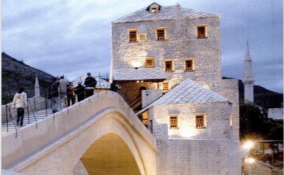 Neretva River Old Bridge