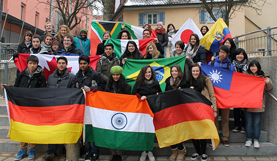 Youth Exchange Students take part in a year-end European Tou
