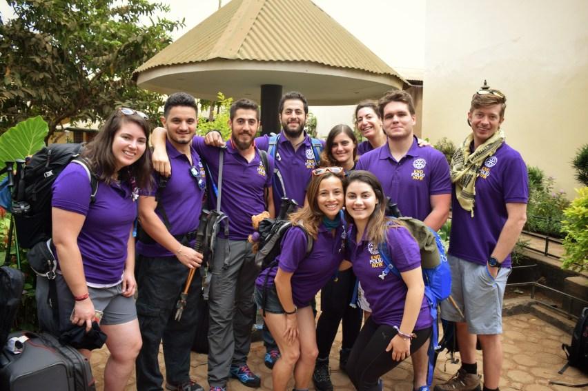 Students Unite to End Polio