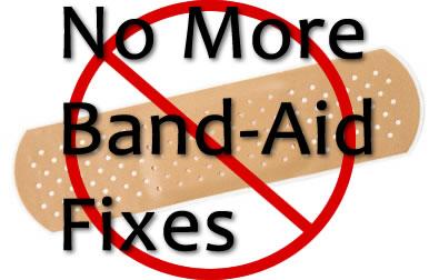 golf band-aid fix