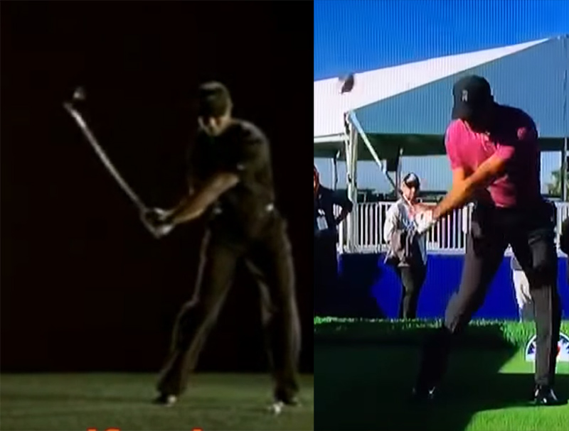 tiger woods driver swing