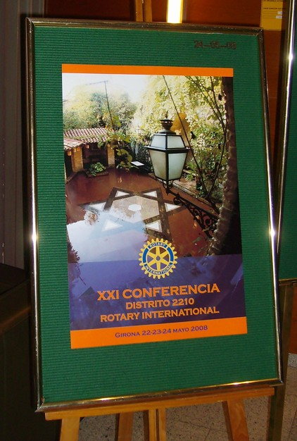 cartell conferència girona