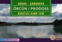 Çukurova Örcün Kamp Alanı - Adana Ücretsiz Kamp Alanları