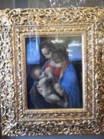 Leonardo Da Vinci 1480 Litta Madonna