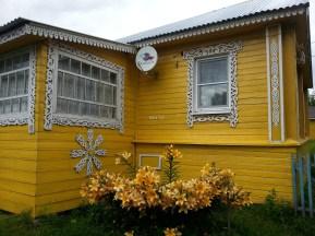Goritsy'nin sevimli evlerinden