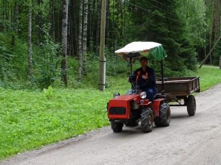 Mandrogi'nin traktörü