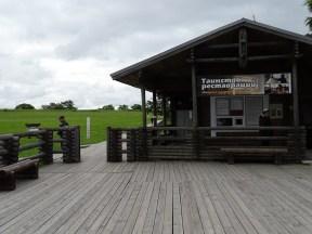 Müze adanın girişi