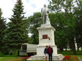 Uglich'te Lenin Heykeli
