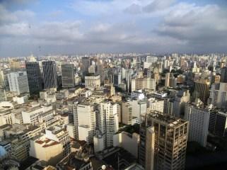 Terraço İtalia'dan Sao Paulo manzarası