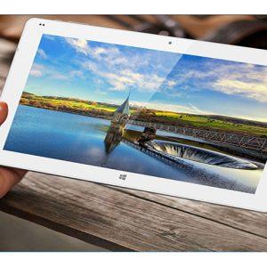 Le bel écran de la tablette