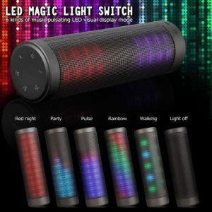 Enceinte LEDS