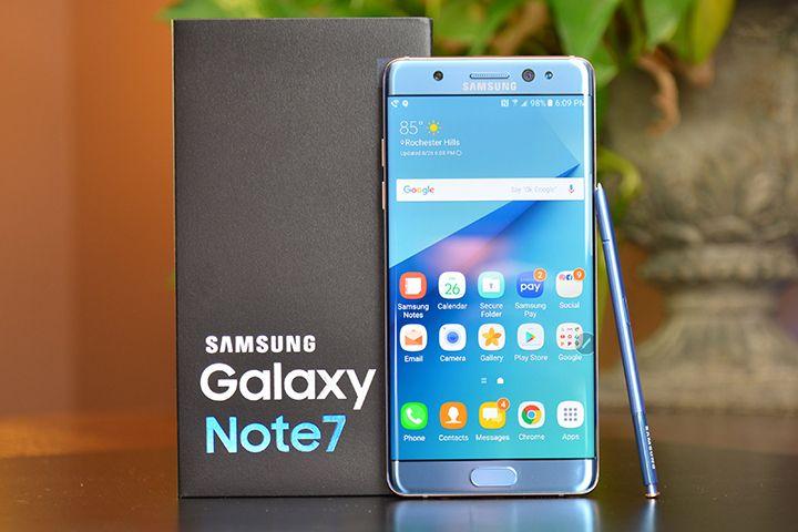 Samsung Galaxy Note 7 : De nouveau sur le marché ?