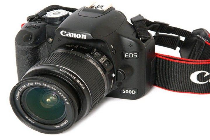 Canon EOS 500D, un reflex digne des plus grands !