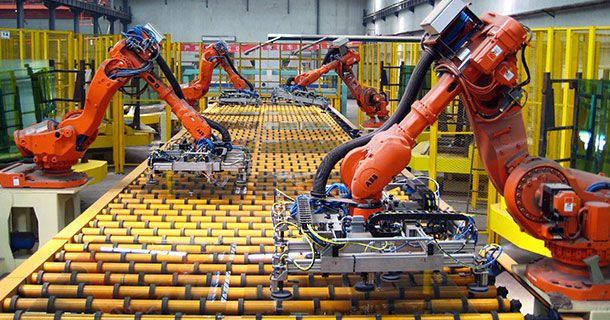 robot intelligence artificielle renault chaine