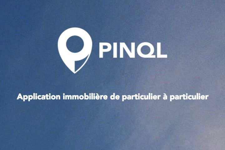 pinql web application smartphone location immobilier