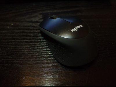 Design de la souris Logitech M330