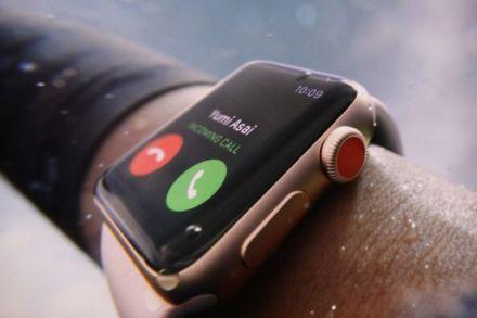 apple watch series 3 chine bloqué esim réseau cellulaire
