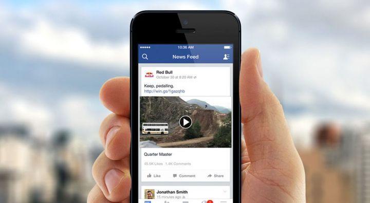 Facebook : le fil d'actualité coupé en deux?