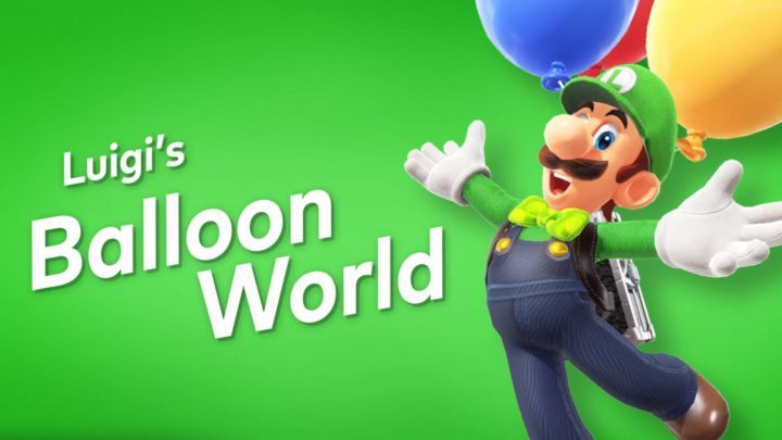 luigi's balloons world