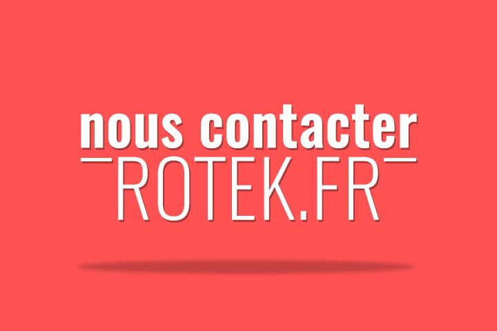 Contacter l'équipe du blog d'actualité informatique Rotek
