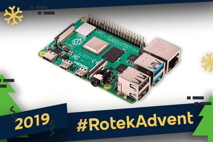 Une Raspberry Pi 4 : une bonne idée cadeau !