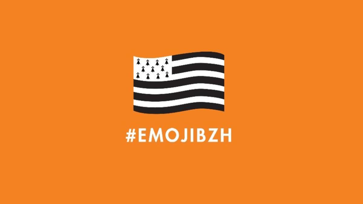 L'emoji Bretagne débarque sur Twitter ! #EmojiBZH