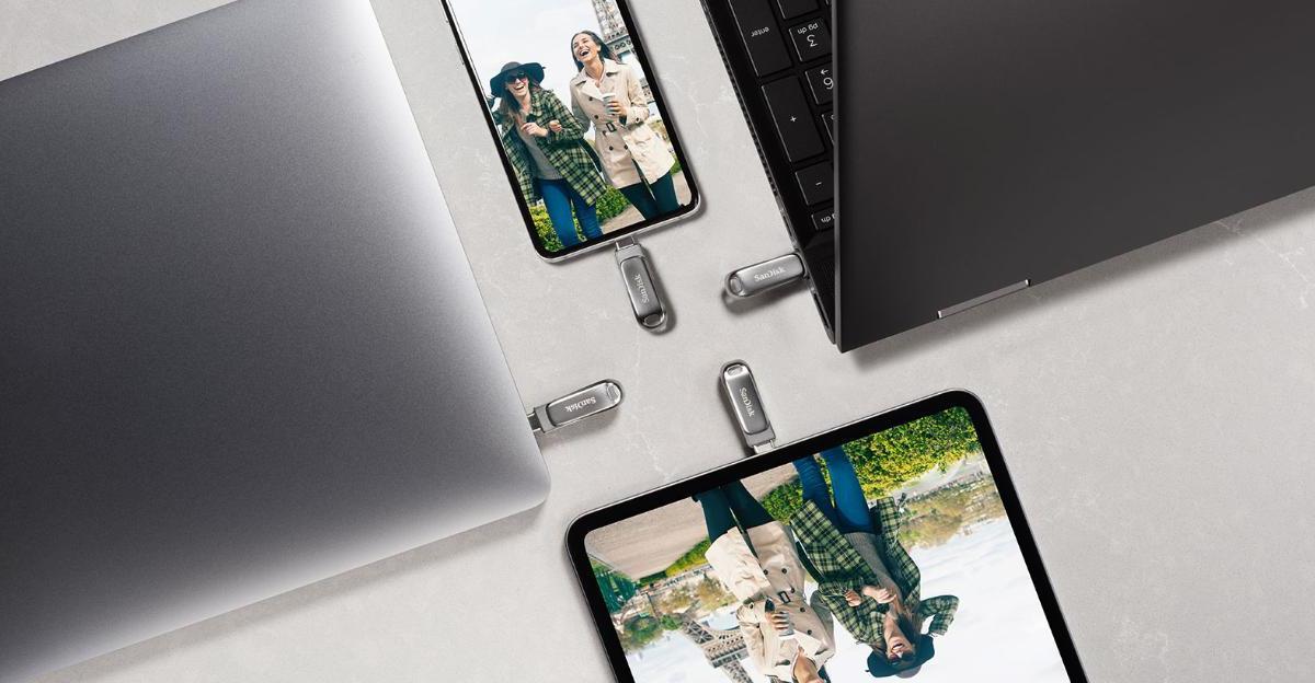 CES 2020 : SanDisk lance sa clé USB type C de 1 To