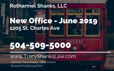 New Office Location – 1205 St. Charles Avenue.