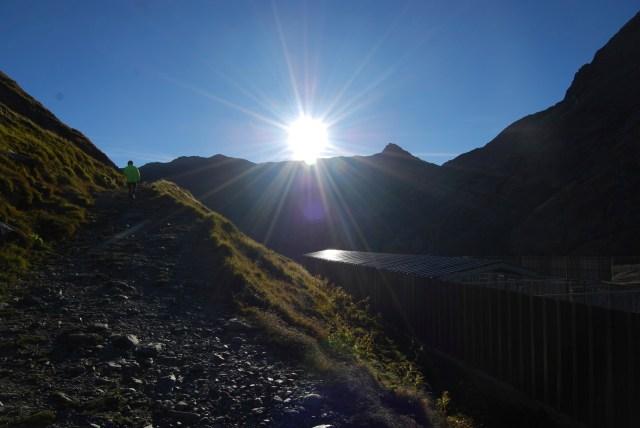 St Bernard Pass Sun rising