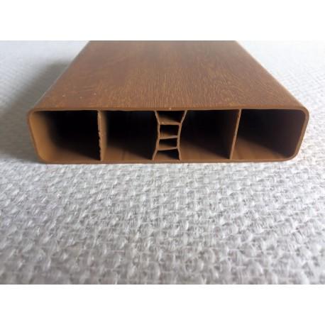 Lisse Pvc Chene Dore 120 X 28 Mm De 0 5m A 2m Rothe Shop Par Rothe Fermetures Pieces Detachees Destockage Profiles Portails Portillons