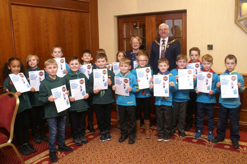 Chief Scout Awards November 2019