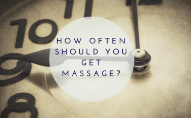 Clock_How often should I get a massage?