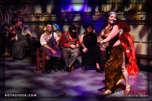 Bellydancer Shana Raqs performs at the 18th Annual Labyrinth Of Jareth Masquerade Ball