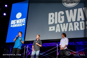 Co-hosts of the TAG Heuer Big Surf Event Activation at WSL Big Wave Awards