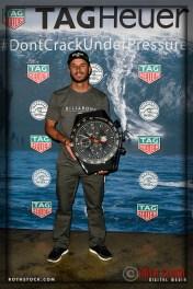 Shane Dorian wins a TAG Heuer sports watch