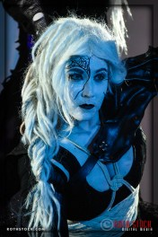Actress Meggan Amos of the Court of the Spider Queen