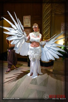 Stephanie Rahl attends the 18th Annual Labyrinth Of Jareth Masquerade Ball