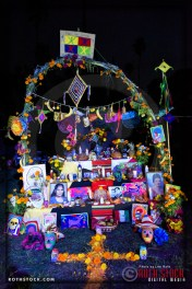 Altars at Dia De Los Muertos - Shamanic Visions of the Huichol at Hollywood Forever