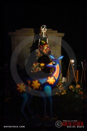 Atmosphere at Dia De Los Muertos - Shamanic Visions of the Huichol at Hollywood Forever