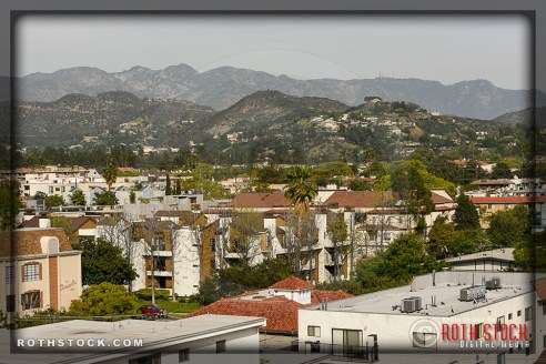 Rooftop Views in Downtown Glendale, California