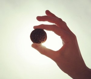 Oreo Eclipse Selfie