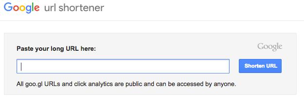 Google's URL Shortener