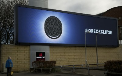 Oreos turned a major eclipse in Britain into a marketing bonanza