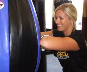 Kickboxing on Bags