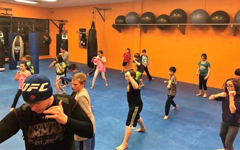 youth Kickboxing drills