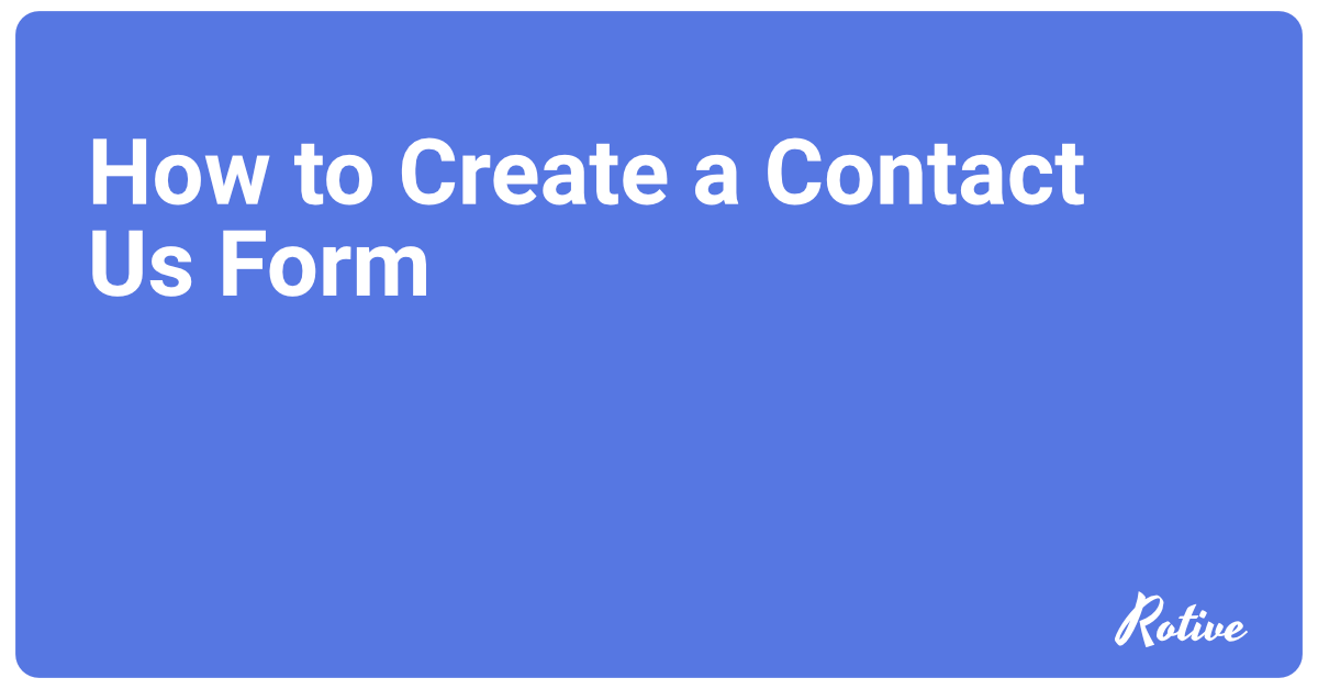 How to Create a Contact Us Form in Pardot