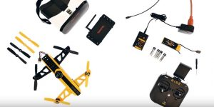 Rise Vusion FPV Drone Racer Assembly