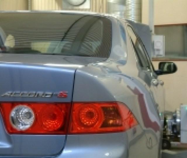 Rototest Dyno Honda Accord 2 4 Type S 06 140 Kw