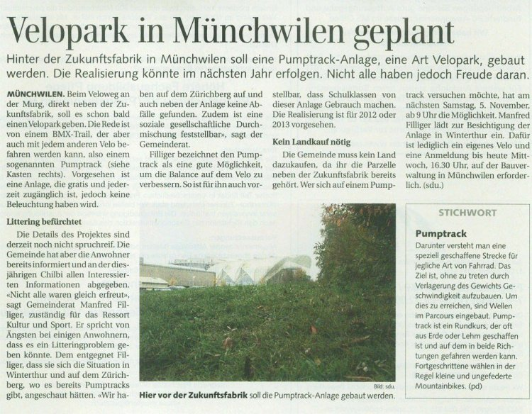 Pumptrack-Muenchwilen